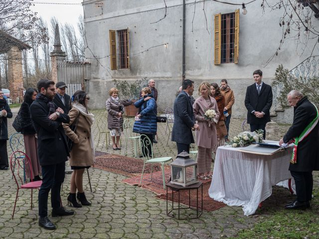 Il matrimonio di Simona e Giorgio a Pieve d'Olmi, Cremona 28