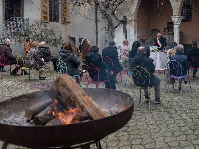 Il matrimonio di Simona e Giorgio a Pieve d'Olmi, Cremona 29