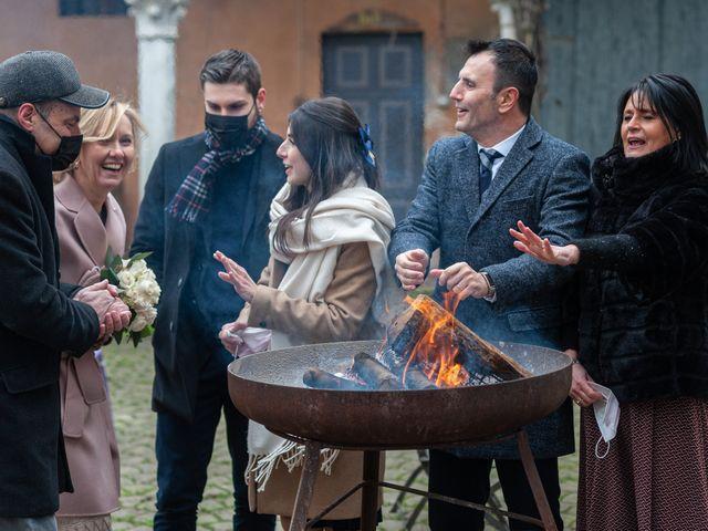 Il matrimonio di Simona e Giorgio a Pieve d'Olmi, Cremona 64