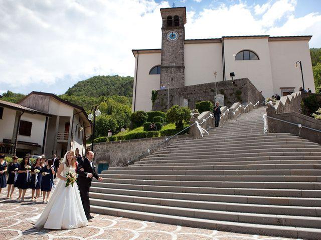 Il matrimonio di Alexander e Alice a Trasaghis, Udine 14