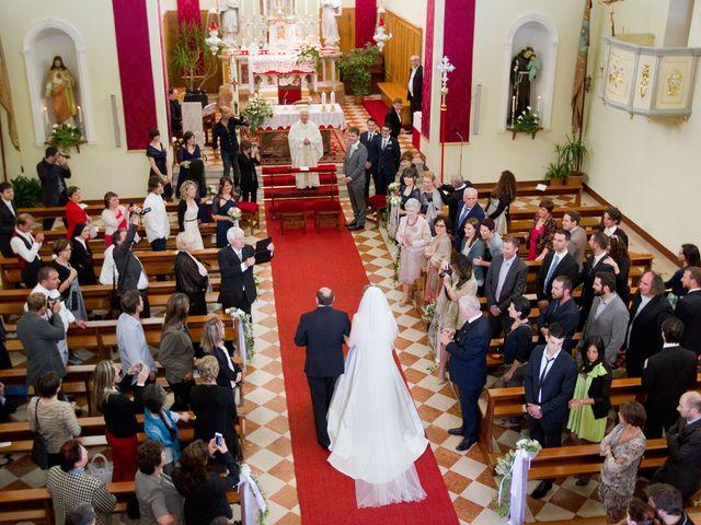 Il matrimonio di Alexander e Alice a Trasaghis, Udine 17
