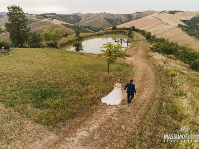 Il matrimonio di Nicholas e Carlotta a Pianoro, Bologna 46