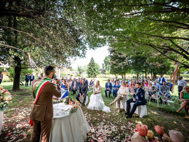 Il matrimonio di Claudio e Sara a Rovato, Brescia 17