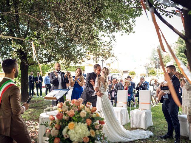 Il matrimonio di Claudio e Sara a Rovato, Brescia 22