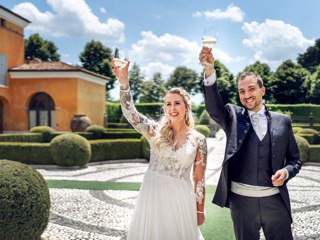 Il matrimonio di Claudio e Sara a Rovato, Brescia 27