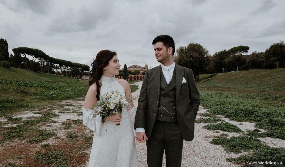 Il matrimonio di Chiara e Antimo a Roma, Roma