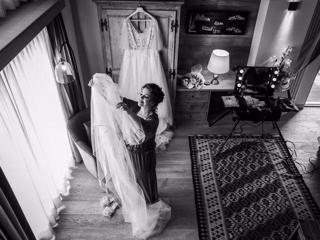 Il matrimonio di Andrea e Valentina a Gressoney-Saint-Jean, Aosta 11