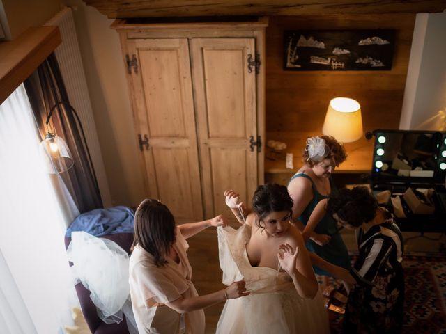 Il matrimonio di Andrea e Valentina a Gressoney-Saint-Jean, Aosta 18