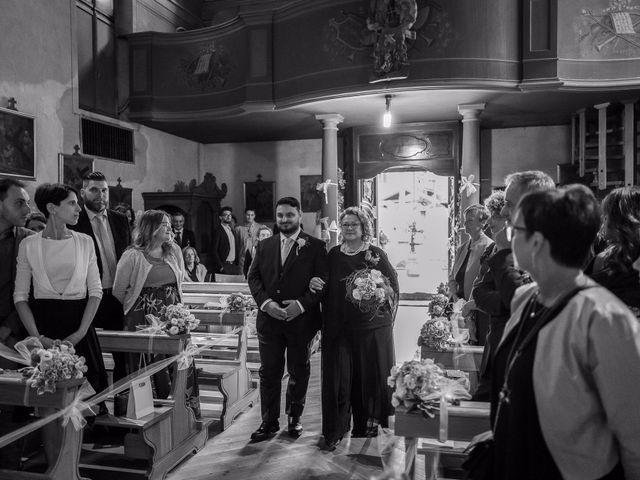Il matrimonio di Andrea e Valentina a Gressoney-Saint-Jean, Aosta 25