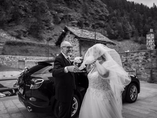 Il matrimonio di Andrea e Valentina a Gressoney-Saint-Jean, Aosta 26