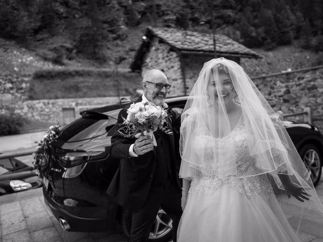 Il matrimonio di Andrea e Valentina a Gressoney-Saint-Jean, Aosta 27