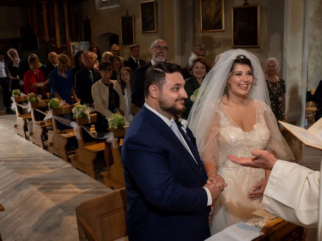 Il matrimonio di Andrea e Valentina a Gressoney-Saint-Jean, Aosta 35