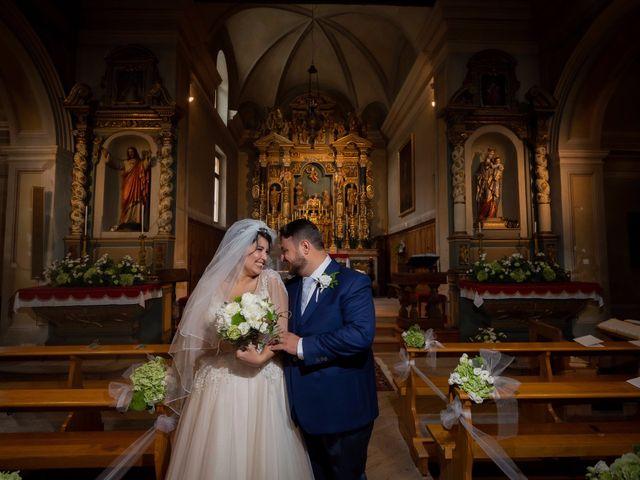 Il matrimonio di Andrea e Valentina a Gressoney-Saint-Jean, Aosta 48