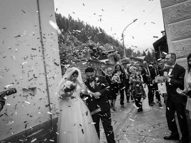 Il matrimonio di Andrea e Valentina a Gressoney-Saint-Jean, Aosta 49