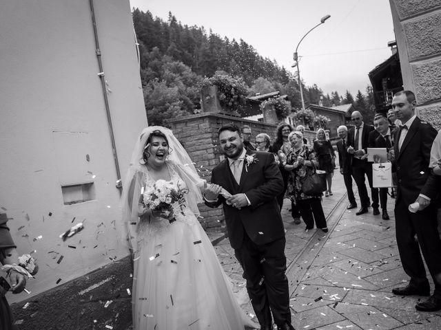 Il matrimonio di Andrea e Valentina a Gressoney-Saint-Jean, Aosta 50