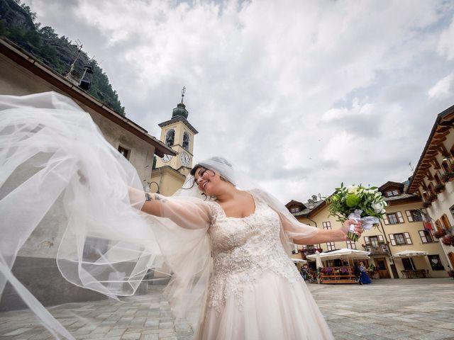 Il matrimonio di Andrea e Valentina a Gressoney-Saint-Jean, Aosta 51