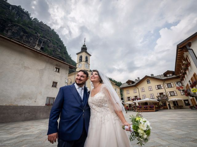 Il matrimonio di Andrea e Valentina a Gressoney-Saint-Jean, Aosta 52
