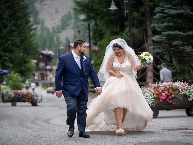 Il matrimonio di Andrea e Valentina a Gressoney-Saint-Jean, Aosta 53