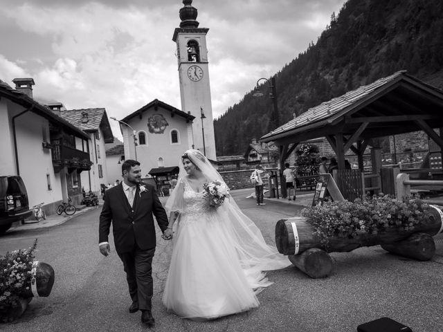 Il matrimonio di Andrea e Valentina a Gressoney-Saint-Jean, Aosta 54