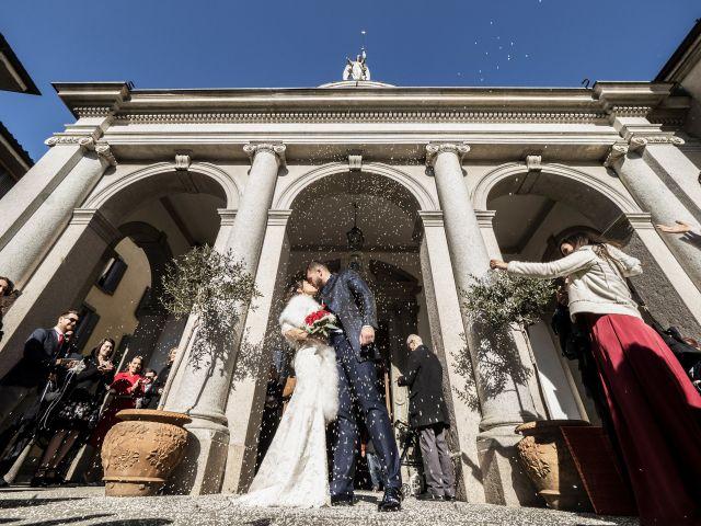 Il matrimonio di Diego e Francesca a Bergamo, Bergamo 48