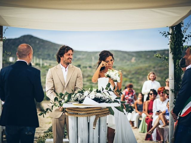 Il matrimonio di Claudio e Deborah a Golfo Aranci, Sassari 46