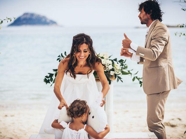 Il matrimonio di Claudio e Deborah a Golfo Aranci, Sassari 55