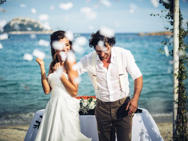 Il matrimonio di Claudio e Deborah a Golfo Aranci, Sassari 82