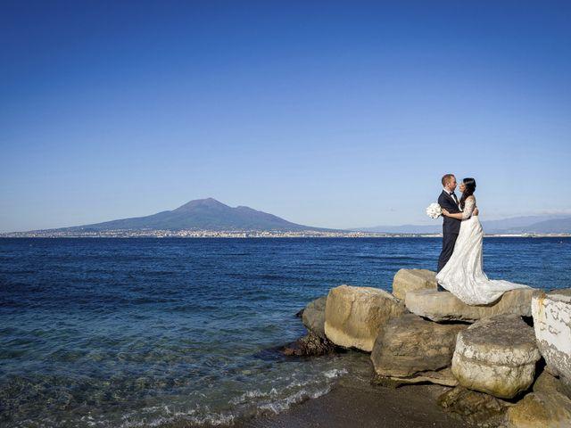 Il matrimonio di Stefano e Daniela a Castellammare di Stabia, Napoli 1