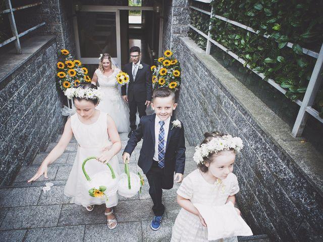 Il matrimonio di Achille e Angela a Carpignano Sesia, Novara 14