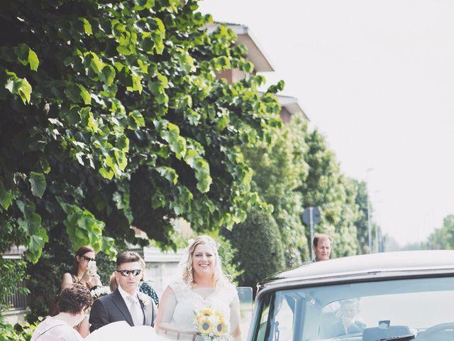 Il matrimonio di Achille e Angela a Carpignano Sesia, Novara 21
