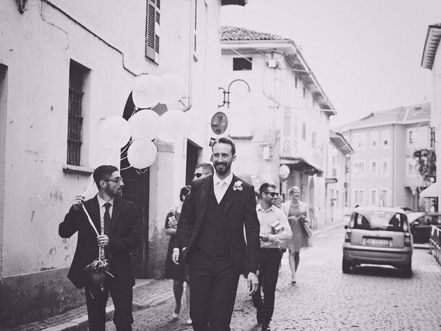 Il matrimonio di Achille e Angela a Carpignano Sesia, Novara 34