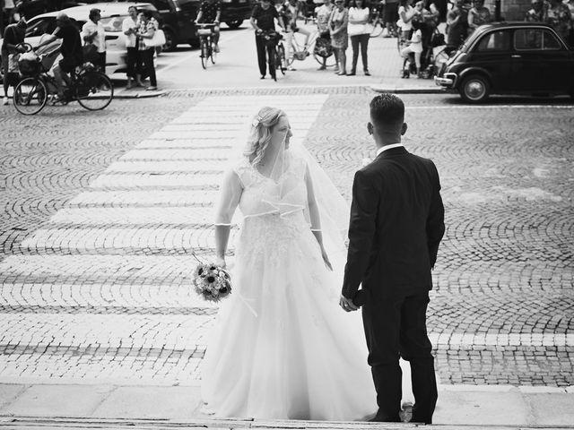 Il matrimonio di Achille e Angela a Carpignano Sesia, Novara 40