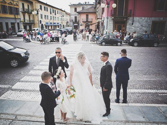 Il matrimonio di Achille e Angela a Carpignano Sesia, Novara 43
