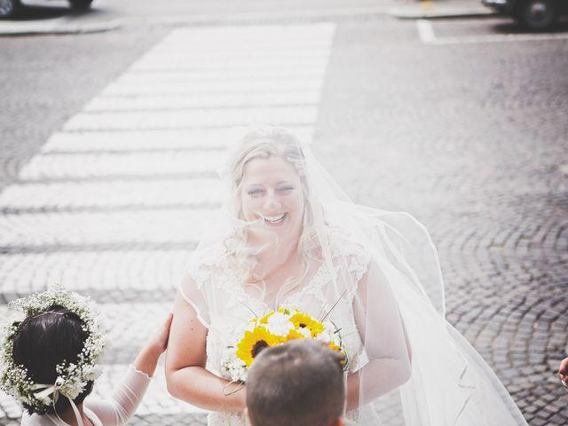 Il matrimonio di Achille e Angela a Carpignano Sesia, Novara 44