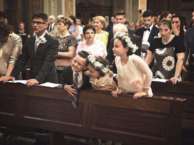 Il matrimonio di Achille e Angela a Carpignano Sesia, Novara 55