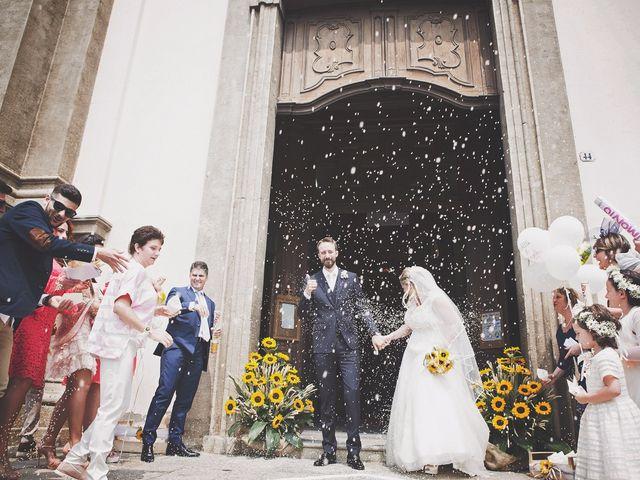 Il matrimonio di Achille e Angela a Carpignano Sesia, Novara 60