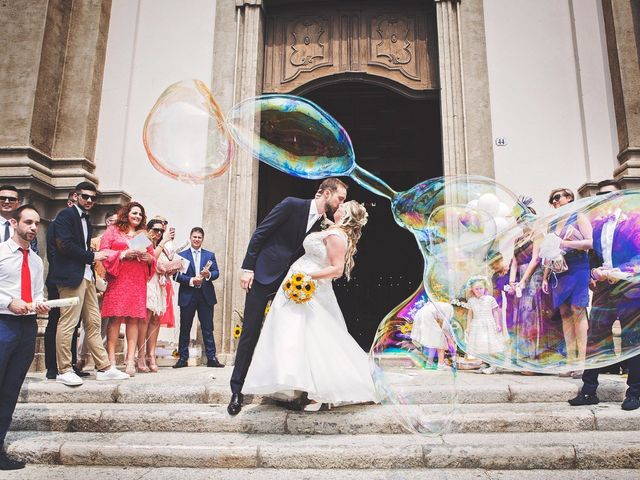 Il matrimonio di Achille e Angela a Carpignano Sesia, Novara 1