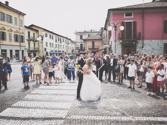Il matrimonio di Achille e Angela a Carpignano Sesia, Novara 2