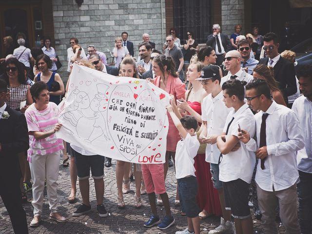Il matrimonio di Achille e Angela a Carpignano Sesia, Novara 70