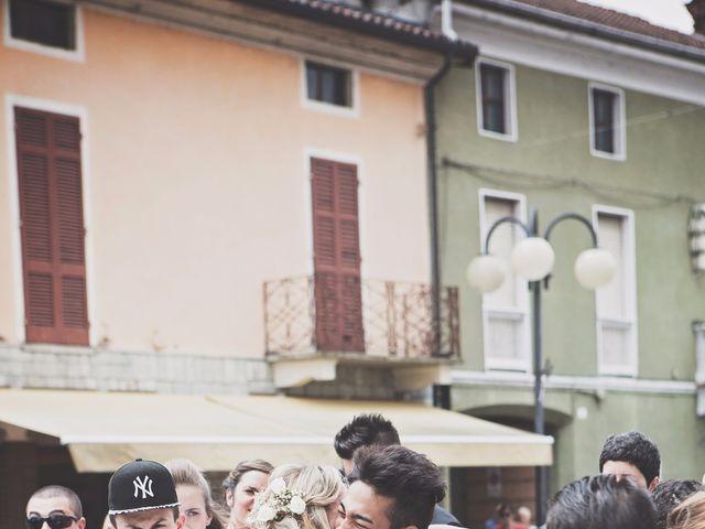 Il matrimonio di Achille e Angela a Carpignano Sesia, Novara 71