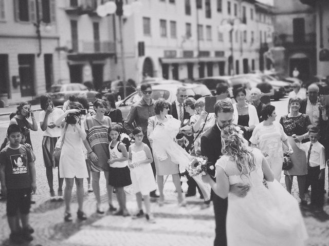 Il matrimonio di Achille e Angela a Carpignano Sesia, Novara 72
