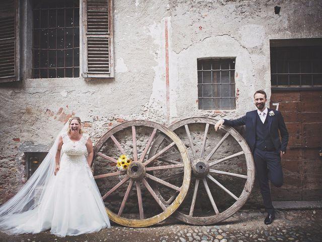 Il matrimonio di Achille e Angela a Carpignano Sesia, Novara 74