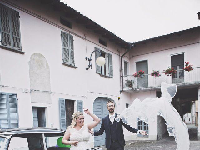 Il matrimonio di Achille e Angela a Carpignano Sesia, Novara 78
