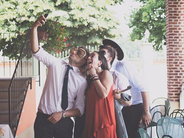 Il matrimonio di Achille e Angela a Carpignano Sesia, Novara 83