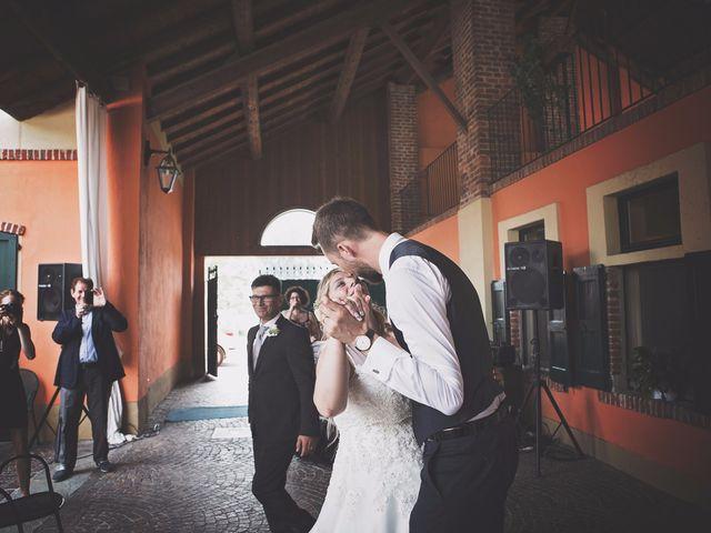 Il matrimonio di Achille e Angela a Carpignano Sesia, Novara 95