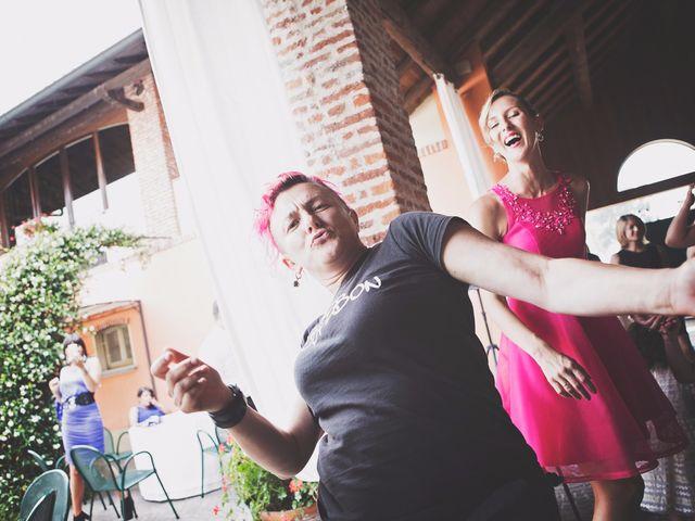Il matrimonio di Achille e Angela a Carpignano Sesia, Novara 101