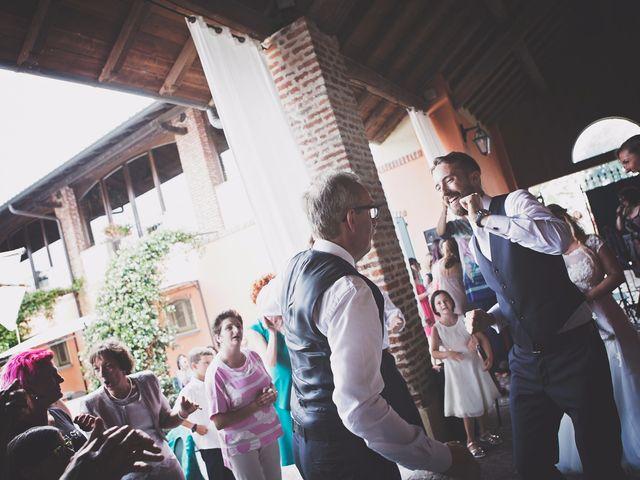 Il matrimonio di Achille e Angela a Carpignano Sesia, Novara 104