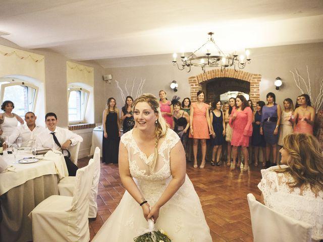 Il matrimonio di Achille e Angela a Carpignano Sesia, Novara 122