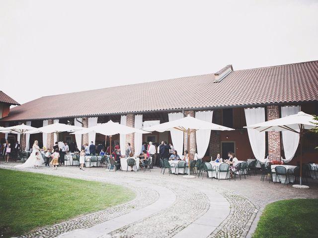 Il matrimonio di Achille e Angela a Carpignano Sesia, Novara 135