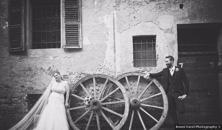 Il matrimonio di Achille e Angela a Carpignano Sesia, Novara
